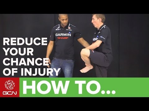 How To Avoid Injury When Cycling - Dynamic Stretches For Cycling With Garmin Sharp