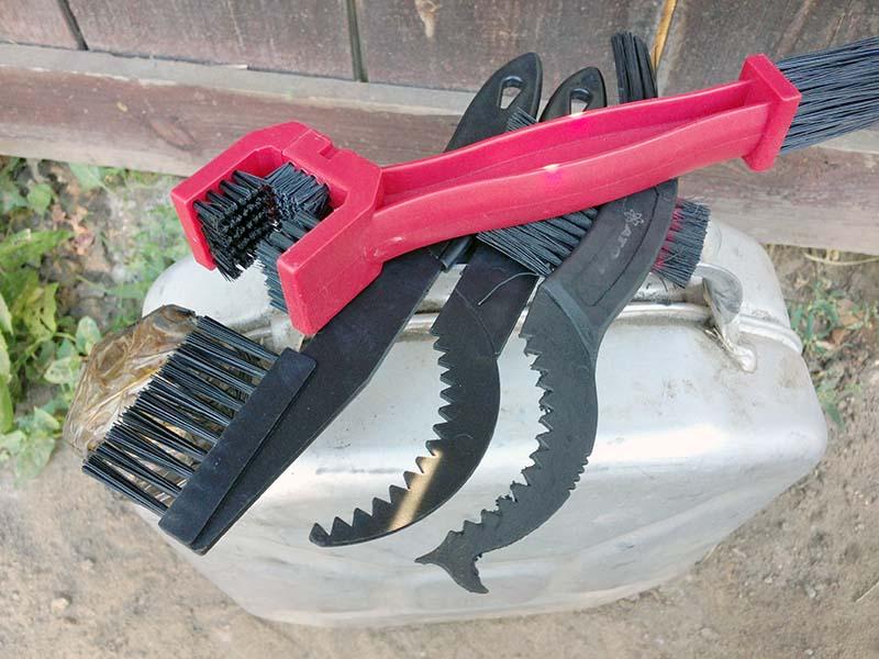 Инструменты для серьезной чистки велосипедной цепи