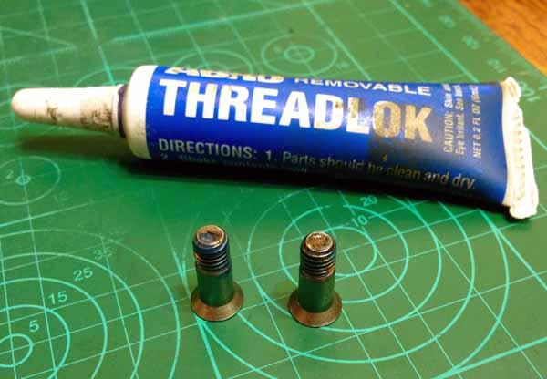 Используем фиксатор резьбы ABRO THREADLOCK для сборки