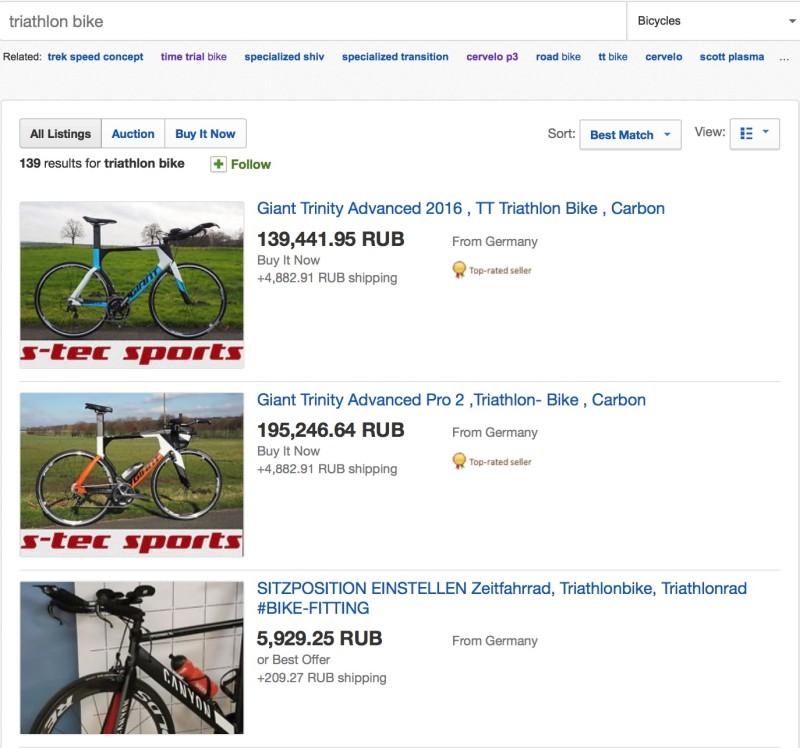 Как выбрать велосипед для триатлона или Triathlon Bike
