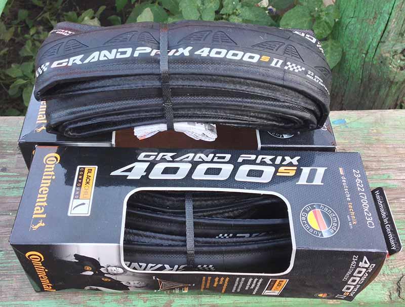 Покрышка Шоссейная Continental Grand Prix 4000S II - 23c