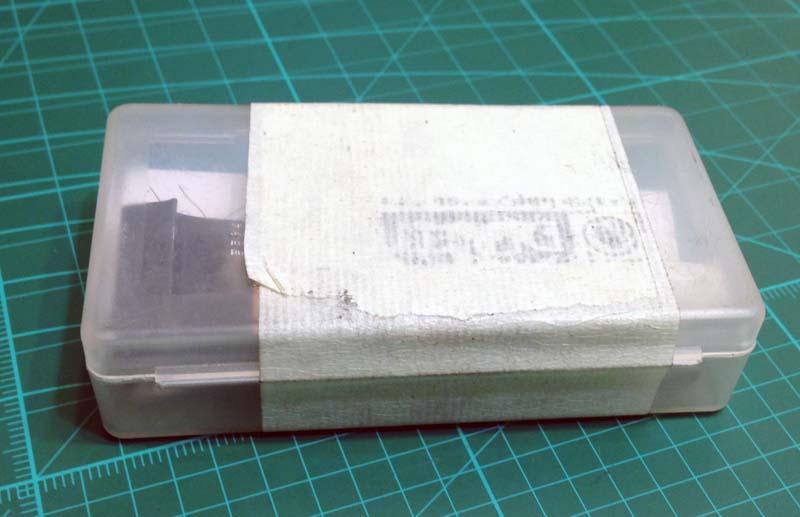 Ремнабор обклеен малярным скотчем, чтобы не открывался в рюкзаке
