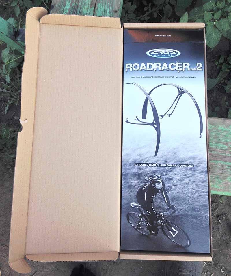 Шоссейные крылья Crud Road Racer MKII упаковка