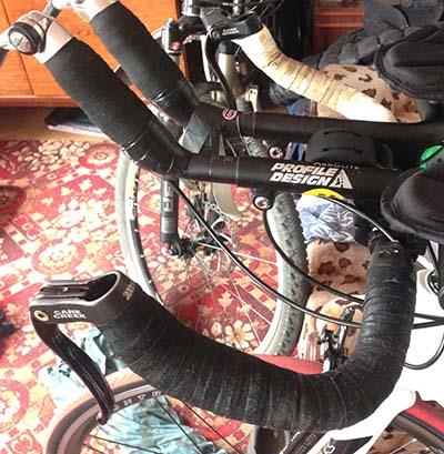 Как аккуратно намотать обмотку на руль разделочного велосипеда