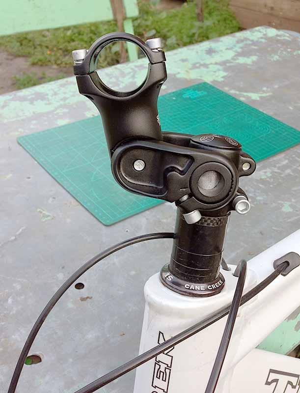 Этот вынос руля на 31.8 мм можно установить под углом 35 градусов