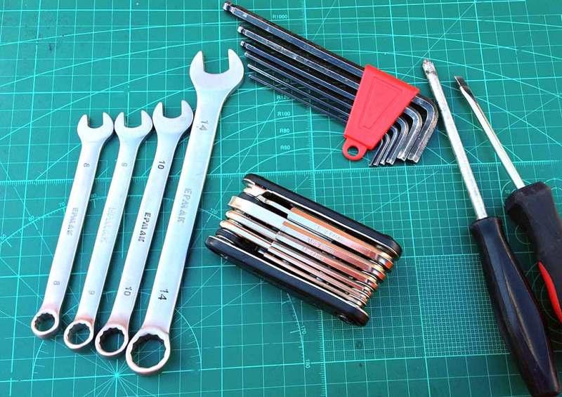 Инструменты, которые заменяет велосипедный мультитул RockBros