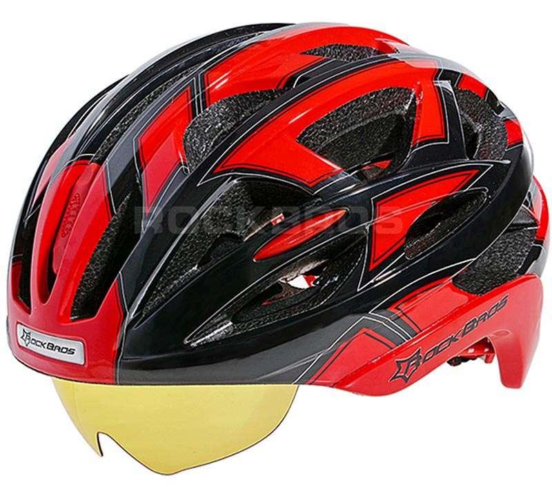 Как выиграть велосипедный шлем RockBros с встроенными очками