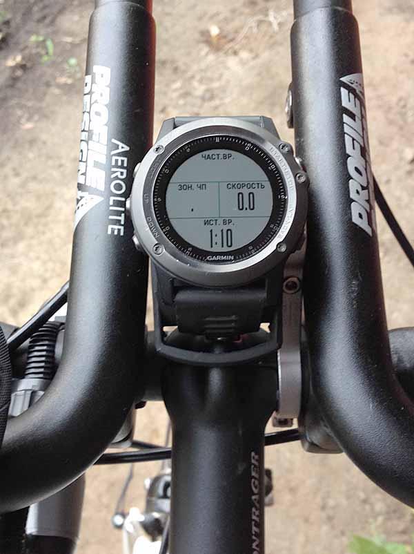 Крепление на руль велосипеда для Garmin Fenix 3 Sapphire