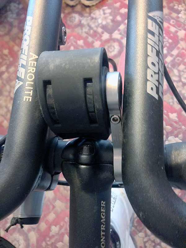 Крепление на руль велосипеда для навигатора Garmin Fenix 3 можно купить на eBay