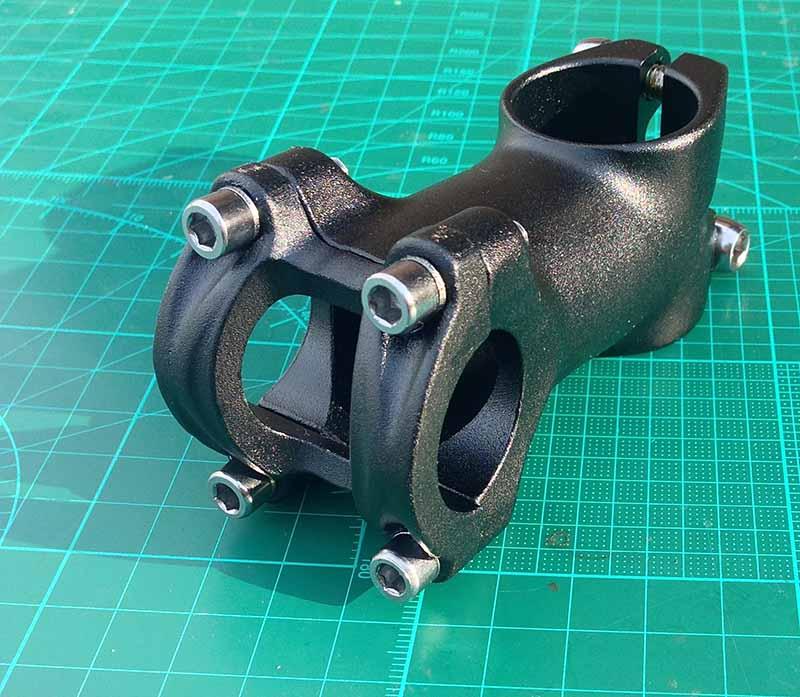 Нерегулируемый вынос руля Neco PRO Funn для велосипеда 25.4 х 60 мм