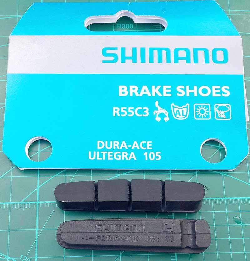 Новые тормозные колодки Shimano Dura Ace
