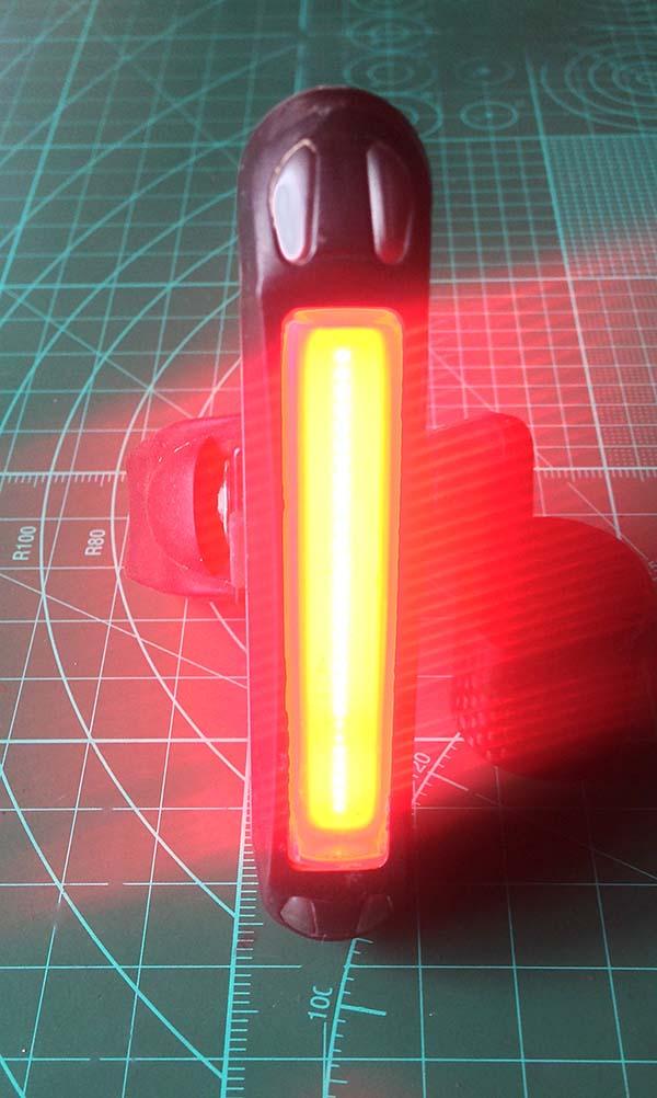Обзор заднего LED фонаря для велосипеда