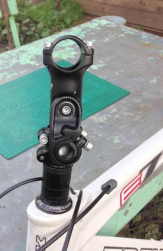 Регулируемый вертикальный вынос велосипедного руля 31.8 х 25.4 х 22.2 мм