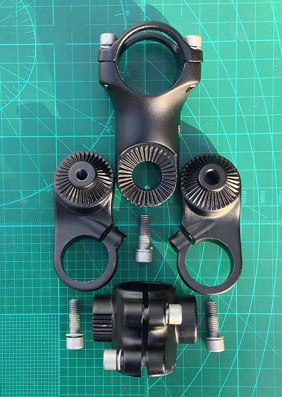 Регулируемый вынос руля Truvativ для велосипеда 25.4 мм х 31.8 мм