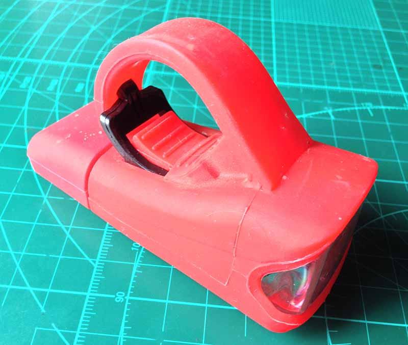 Резиновый корпус велосипедной фары RockBros USB Headlight