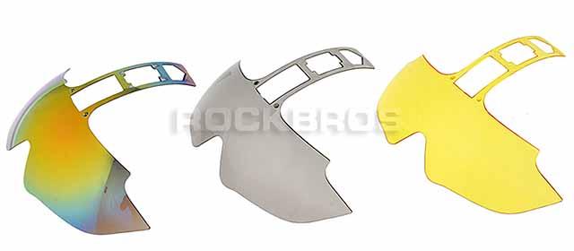 Сменные линзы велосипедного шлема RockBros с выдвижными очками