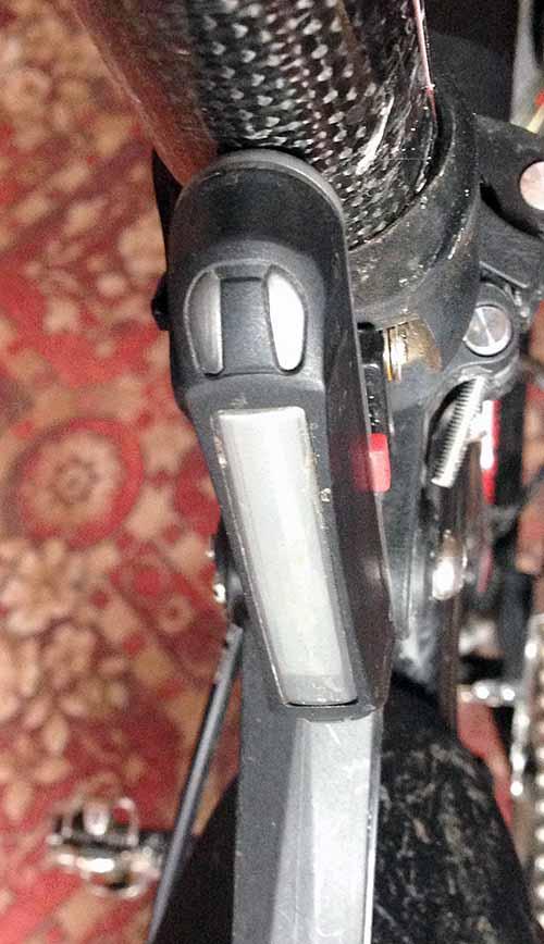 Светодиодная задняя фара на велосипед
