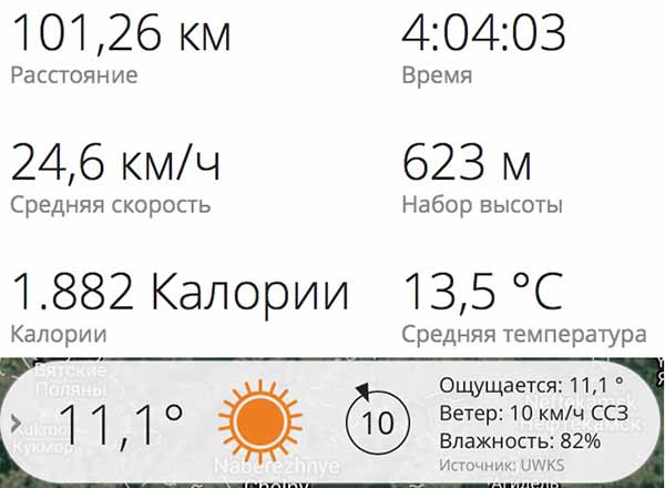 Тренировка 101 километр итоги