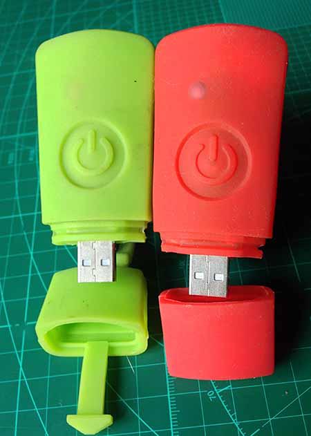 USB разъемы фонарика для велосипеда RockBros USB Headlight