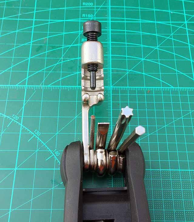 Велосипедный Мультитул RockBros выжимка плоская отвертка и шестигранники