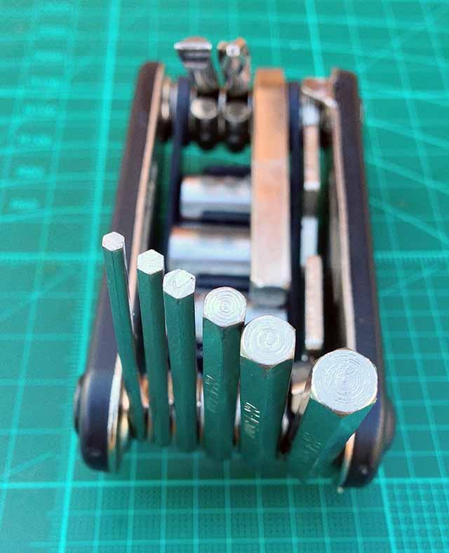 Велосипедный мультитул RockBros шестигранники от 2 до 6 мм