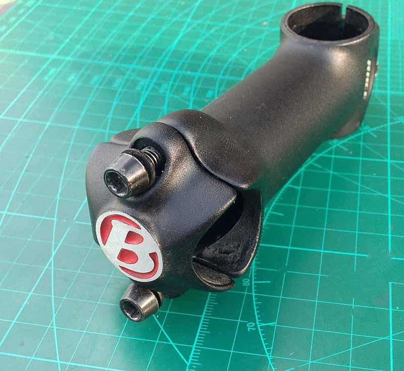 Вынос руля Bontrager xxx 100 мм 31.8 на 25.4 мм для шоссейного велосипеда