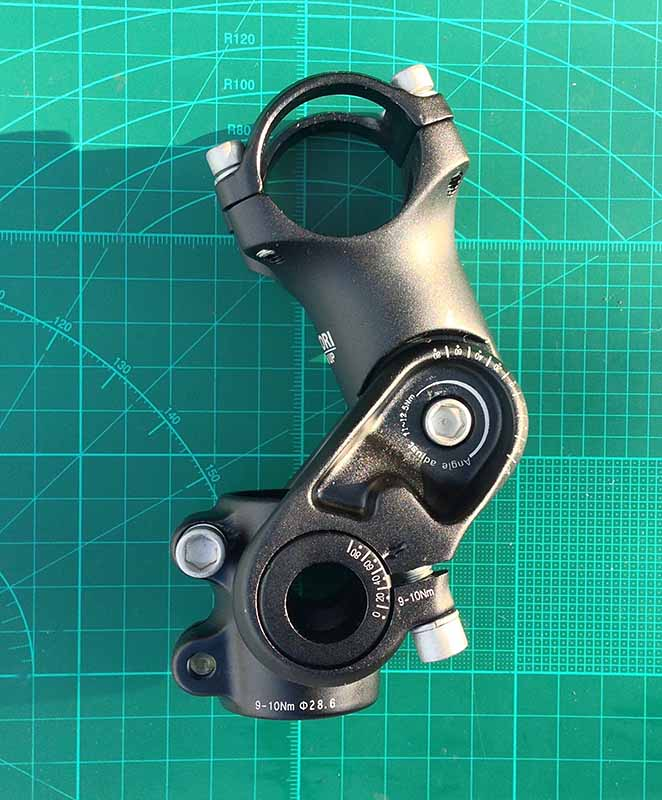 Вынос с регулируемым наклоном с алиэкспресс 31.8 мм