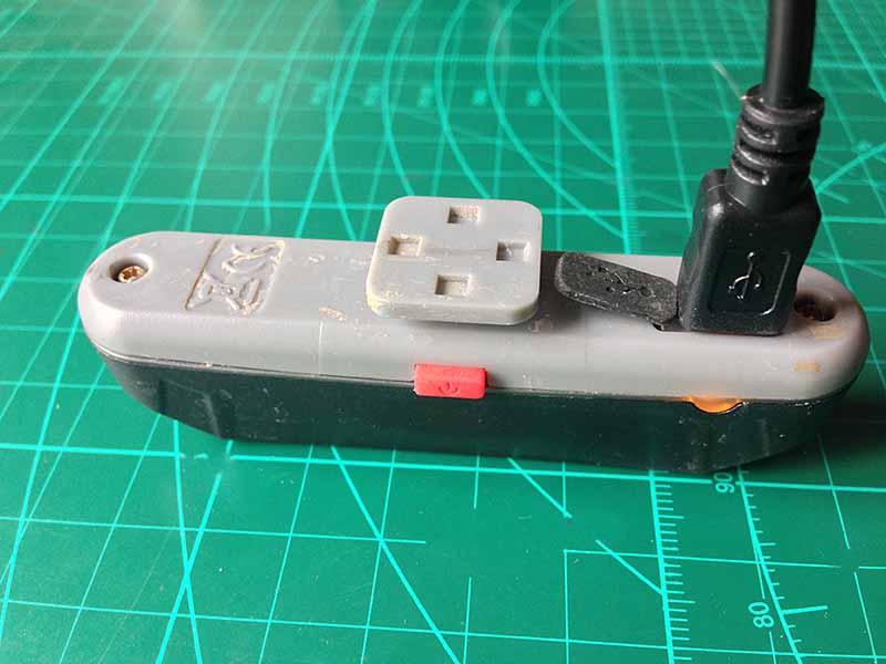 Задний светодиодный фонарь велосипеда с Li-Po аккумулятором и зарядкой от USB разъема