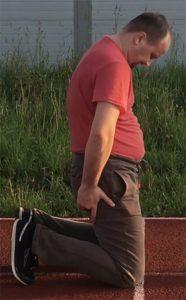 3-Зарядка и упражнения для похудения - Натягиваем лук исходное положение