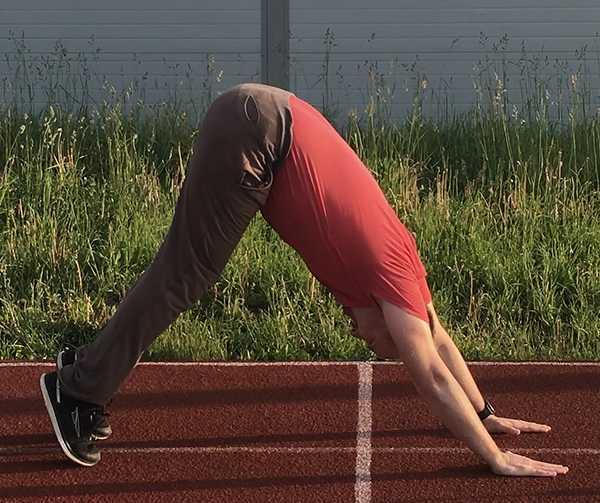 5-Зарядка и упражнения для похудения - Гора - поднимаем 5-ю точку вверх, руки и туловище в прямую линию
