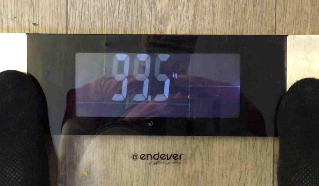 Результат - минус 1.5 килограмма за вторую неделю